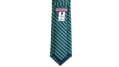 """<strong>Fashionable gifts for dad: The tie</strong><br />Kennedy Preppy Feeder Stripe Skinny Tie ($85; <a href=""""https://www.vineyardvines.com/woven-ties/kennedy-preppy-feeder-stripe-skinny-tie/1T000027.html"""" target=""""_blank"""" target=""""_blank"""">vineyardvines.com</a>)"""