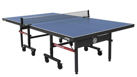 """<strong>STIGA Advantage Competition-Ready Indoor Table Tennis Table ($374.99, originally $499.99; </strong><a href=""""https://amzn.to/2QO0OdO"""" target=""""_blank"""" target=""""_blank""""><strong>amazon.com</strong></a><strong>)</strong>"""