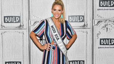 NEW YORK, NY - MAY 23:  Miss USA 2018 Sarah Rose Summers visits the Build Series at Build Studio on May 23, 2018 in New York City.  (Photo by Dia Dipasupil/Getty Images)