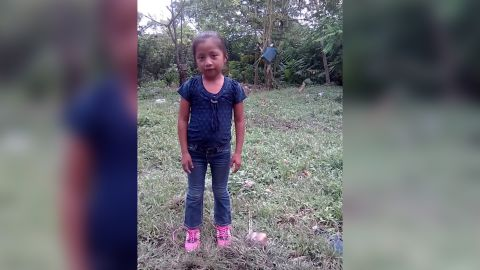 Jakelin Caal Maquin, 7, in a family photo, shortly before her journey north from Guatemala.