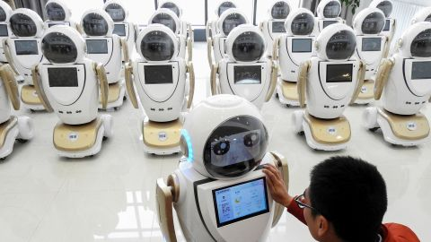 The Chinese government is pumping billions of dollars into areas like microchips and robotics, part of an effort to slash its dependence on foreign technology.