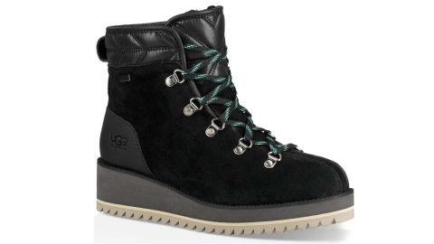 """<strong>Ugg Birch waterproof lace-up winter bootie ($199.95; </strong><a href=""""https://click.linksynergy.com/deeplink?id=Fr/49/7rhGg&mid=1237&u1=1218skigear&murl=https%3A%2F%2Fshop.nordstrom.com%2Fs%2Fugg-birch-waterproof-lace-up-winter-bootie-women%2F5025414%3Forigin%3Dcategory-personalizedsort%26breadcrumb%3DHome%252FWomen%252FShoes%252FBoots%252FSnow%2520%2526%2520Winter%26color%3Dblack"""" target=""""_blank"""" target=""""_blank""""><strong>nordstrom.com</strong></a><strong>)</strong>"""