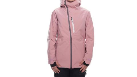 """<strong>686 GLCR hydra-insulated jacket ($260; </strong><a href=""""https://www.686.com/collections/women/products/wms-glcr-hydra-insl-jkt?variant=12226813886565"""" target=""""_blank"""" target=""""_blank""""><strong>868.com</strong></a><strong>)</strong>"""