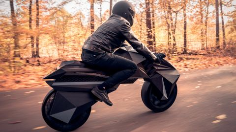 """""""This bike and our other prototypes push the limits of engineering creativity,"""" said Dr. Stephan Beyer, CEO and co-founder of BigRep."""
