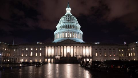 The US Capitol is seen ahead of a possible government shutdown, in Washington, DC, December 21, 2018.