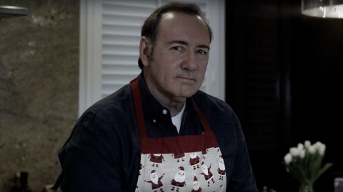 An image of Kevin Spacey from a video he posted on Monday