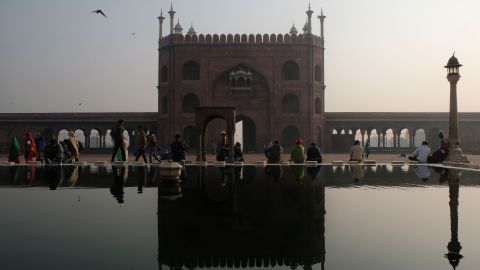 <strong>New Delhi, India: </strong>One of the largest mosques in India, Jama Masjid was commissioned by the Mughal emperor Shah Jahan and completed in 1656.