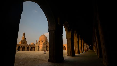 <strong>Cairo, Egypt: </strong>The mosque of Ibn Tulun is the oldest mosques in the Egyptian capital of Cairo standing in its original form.