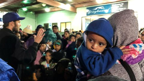 More than 200 migrants were dropped off Sunday night at an El Paso bus station by ICE, officials said.