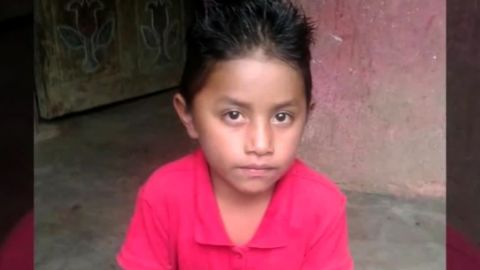 CNN IMAGES:  S103355986  S103355989  Family supplied image of the 8-year-old Guatemalan Boy Felipe Gomez Alonzo, who died while in the custody of US Customs and Border Patrol in New Mexico/El Paso, Texas border region.