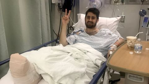 Josh Snider is recovering in New York with his family.
