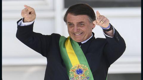 Jair Bolsonaro on January 1, 2019.