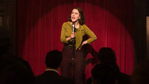 """<strong>Outstanding performance by a female actor in a comedy series:</strong> Rachel Brosnahan, """"The Marvelous Mrs. Maisel"""""""