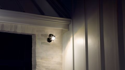 The Ring Spotlight camera can attach almost anywhere.