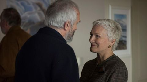 """<strong>Outstanding performance by a female actor in a leading role:</strong> Glenn Close, """"The Wife"""""""