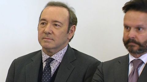 Kevin Spacey was arraigned on a charge of indecent assault and battery in Nantucket court on Monday, January 7, 2019.