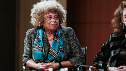 NEW YORK, NY - APRIL 06:  Angela Davis attends the Groundswell at 20, with Angela Davis at CUNY Graduate Center on April 6, 2017 in New York City.  (Photo by Gonzalo Marroquin/Patrick McMullan via Getty Images)