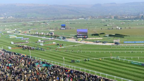Cheltenham is a shrine to jump racing against the idyllic backdrop of the Cotswold hills. It hosts the prestigious Cheltenham Festival every March, the highlight of the world's jump racing calendar.