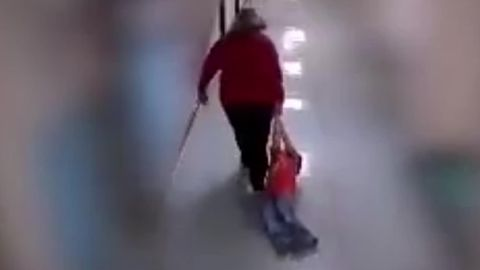 A Kentucky teacher dragged a 9-year-old boy with autism in October 2018.