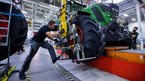 Germany has suffered an economic slowdown.