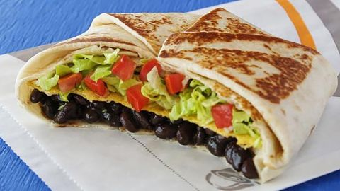 Taco BellVegan Crunchwrap Supreme