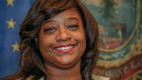 """Kiah Morris, formerly the only black female legislator in Vermont, was subjected to """"clearly racist and extremely offensive"""" speech."""