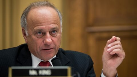 Rep. Steve King (R-IA) questions witnesses during a House Judiciary Committee hearing concerning the oversight of the US refugee admissions program, on Capitol Hill, October 26, 2017 in Washington, DC.