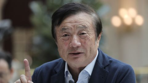 Ren Zhengfei, a former member of the Chinese military, built Huawei into global tech giant over the past three decades.