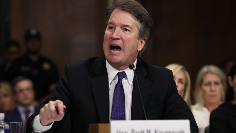 Civil rights advocates say Justice Brett Kavanaugh, seen here during his confirmation hearings last year, will help dismantle the three greatest civil rights laws.