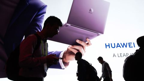 Huawei's products include smartphones, laptops, tablets, networking equipment, software and microchips.