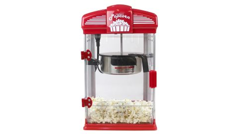 """<strong>This popcorn machine that's sure to be a hit at your next movie night ($44.99;</strong><a href=""""https://www.target.com/p/west-bend-theater-crazy-popcorn-machine/-/A-51131675"""" target=""""_blank"""" target=""""_blank""""><strong> target.com</strong></a><strong>)</strong>"""
