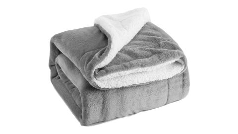 """<strong>This super soft and fuzzy fleece blanket that's available in 16 colors ($25.99; </strong><a href=""""https://amzn.to/2MtAAZC"""" target=""""_blank"""" target=""""_blank""""><strong>amazon.com</strong></a><strong>)</strong><br />"""