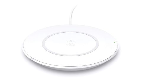 """<strong>This sleek, wireless charging pad ($49.88; </strong><a href=""""https://amzn.to/2RIn6ir"""" target=""""_blank"""" target=""""_blank""""><strong>amazon.com</strong></a>)"""