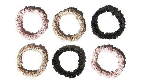 "<strong>This set of six luxurious silk scrunchies ($39; </strong><a href=""https://www.anthropologie.com/shop/slip-silk-small-scrunchie-set"" target=""_blank"" target=""_blank""><strong>anthropologie.com</strong></a><strong>)</strong>"