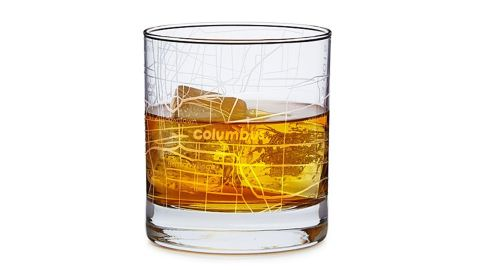 """<strong>A glass to remind you of your favorite city while you enjoy a drink at the end of a long day ($16;  </strong><a href=""""https://www.uncommongoods.com/product/urban-map-glass"""" target=""""_blank"""" target=""""_blank""""><strong>uncommongoods.com</strong></a><strong>)</strong>"""