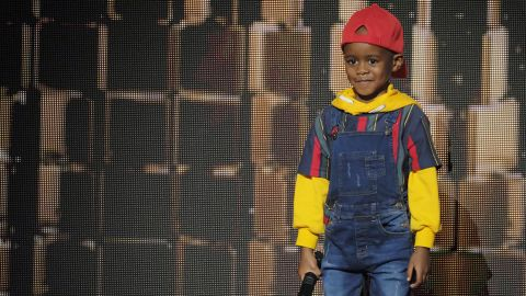 """AMERICA'S GOT TALENT: THE CHAMPIONS -- """"The Champions Three"""" Episode 103 -- Pictured: DJ Arch Jr -- (Photo by: Trae Patton/NBC)"""