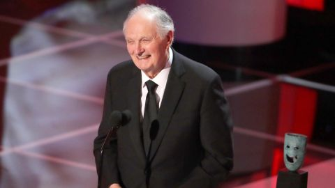 LOS ANGELES, CA - JANUARY 27:  Alan Alda onstage during the 25th Annual Screen ActorsGuild Awards at The Shrine Auditorium on January 27, 2019 in Los Angeles, California. 480468  (Photo by Richard Heathcote/Getty Images for Turner)