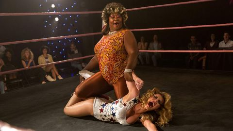 """<strong>Outstanding performance by a stunt ensemble in a television series:</strong> """"GLOW"""""""