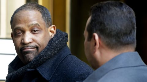 Attorney Ronald Sullivan Jr. arrives at New York Supreme Court, Friday, Jan. 25, 2019, in New York. Sullivan is one of the new attorneys hired to represent Harvey Weinstein for his defense in the sexual assault case against him. (AP Photo/Julio Cortez)