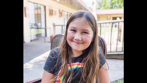 """Fifth-grader Ruby Kate Chitsey and her mom started """"Three Wishes for Ruby's Residents"""" to help raise money for the elderly in northwest Arkansas' nursing homes."""