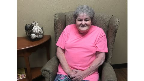 74-year-old Marilyn Spurlock says her depression has lifted now that she gets to help grant the wishes of her fellow nursing home residents.