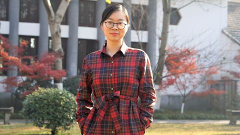 High school teacher Chen Huijuan said she can't afford to have a second child, despite the government's prodding.