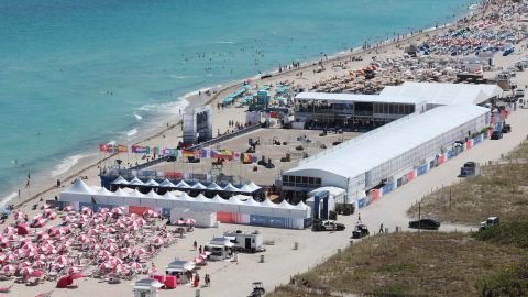 Miami offers a spectacular location on the beach.