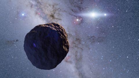 A 1.3 km radius Edgeworth-Kuiper Belt Object.