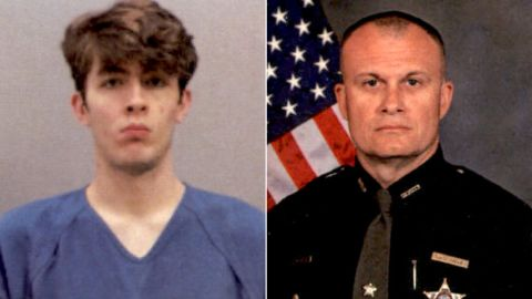 Wade Winn, left, opened fire on officers, killing Detective Bill Brewer, police say.