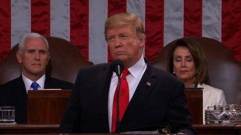 Donald Trump SOTU 2/5.