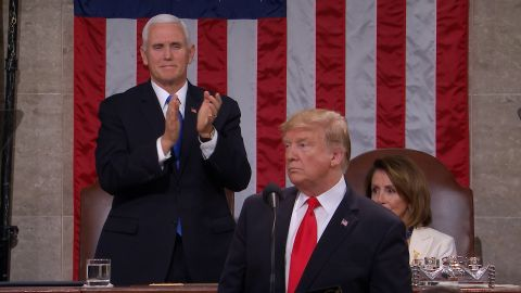 pence standing