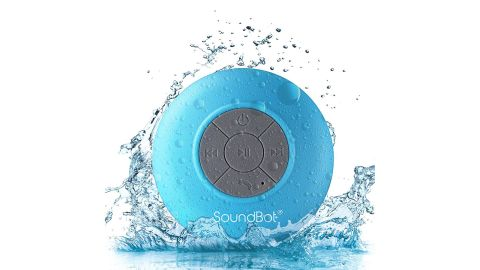 "<strong>Soundbot Shower Speaker ($14.99; </strong><a href=""https://amzn.to/2GfllCj"" target=""_blank"" target=""_blank""><strong>amazon.com</strong></a><strong>) </strong>"