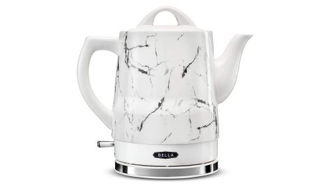 """<strong>BELLA Electric Tea Kettle ($49.99; </strong><a href=""""https://amzn.to/2MKM0bf"""" target=""""_blank"""" target=""""_blank""""><strong>amazon.com</strong></a><strong>) </strong>"""