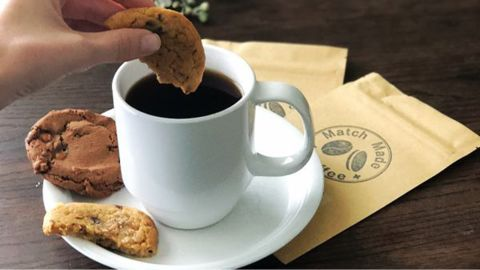 """<strong>Match Made Coffee Subscription ($19.95/month; </strong><a href=""""https://www.cratejoy.com/subscription-box/match-made-coffee/"""" target=""""_blank"""" target=""""_blank""""><strong>cratejoy.com</strong></a><strong>) </strong>"""